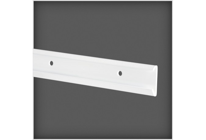 Lisse de suspension long:1350mm,blanc